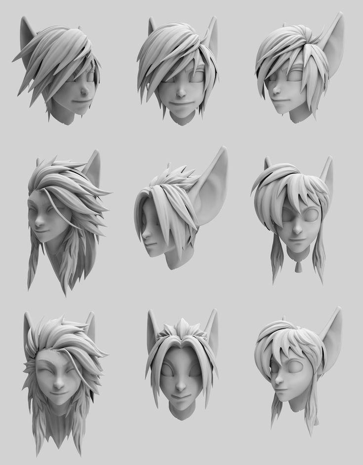 ArtStation - Wildstar works re render part 2, Hong Chan Lim