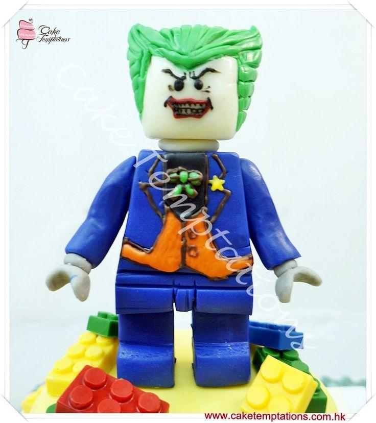 Batman Lego Joker Cake - Western Cartoon/LEGO/Movie