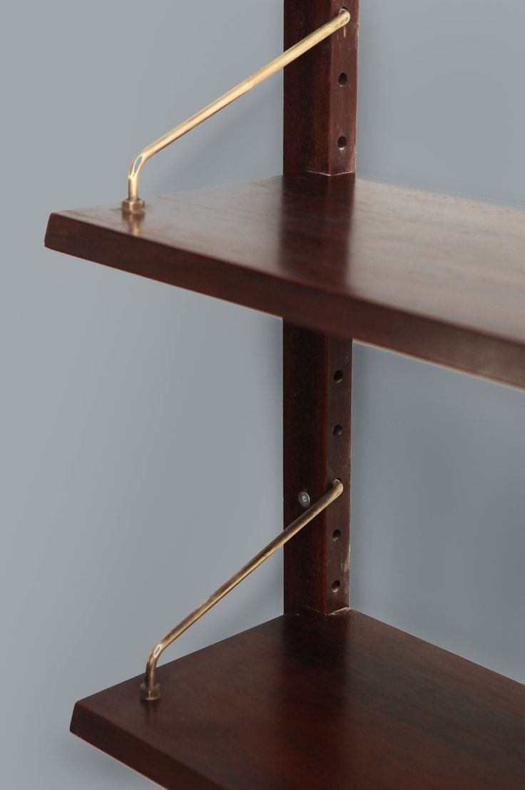 Rosewood shelving unit by Poul Cadovius