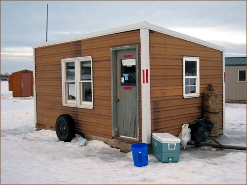 17 best images about ice fishing shacks on pinterest ice for Ice fishing shacks