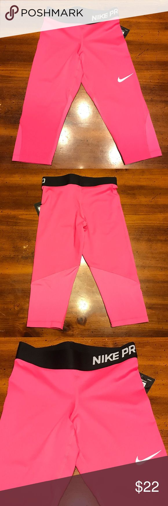 Nike Dri-Fit Girls Size Small Training Pants NWT Nike Dri-Fit Girls Size Small Capri Training Pants NWT Nike Bottoms Leggings