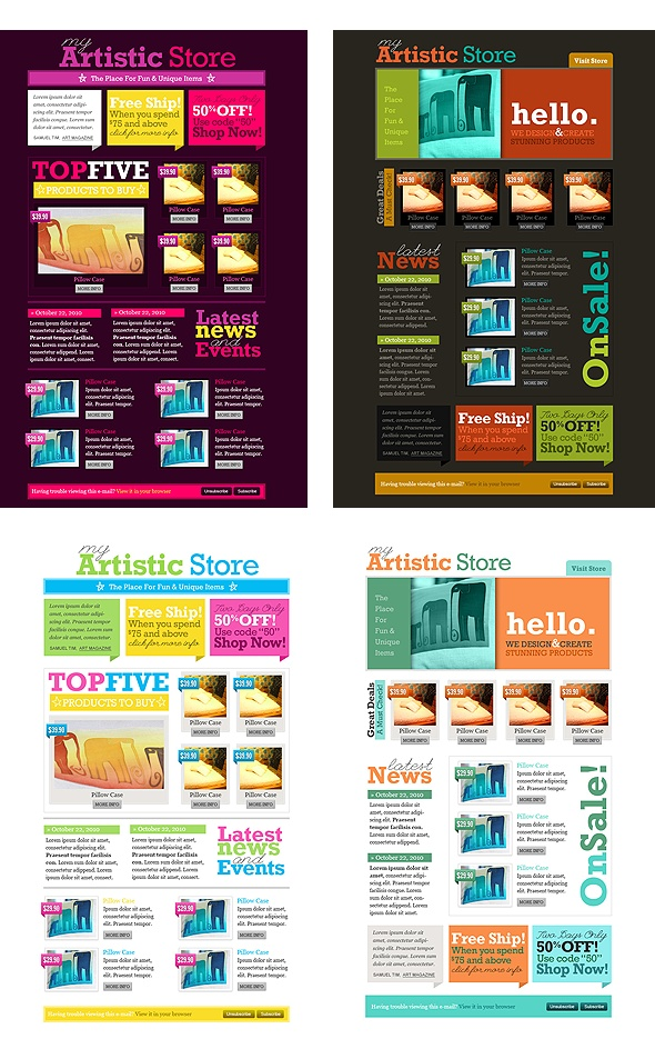 11 best images about Newsletter layouts on Pinterest