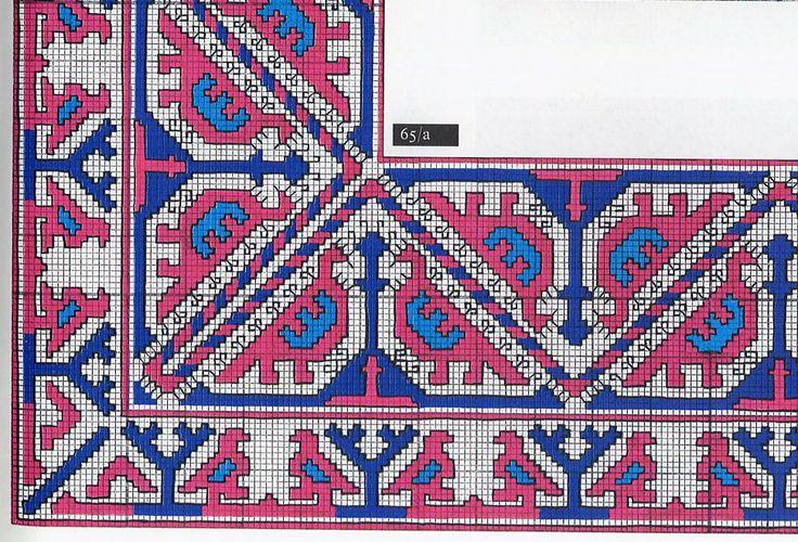 South Khanty Embroidery, Art of an extinct people - Osztyak+madaras+terito