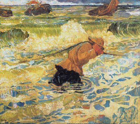 Jan Toorop, Vloed / Tide - 1891