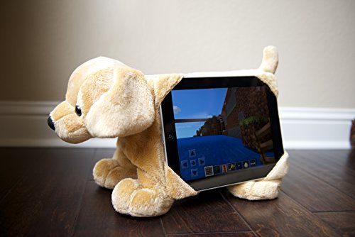 """STANDARD SHIPPING ORDERS WILL SHIP PRIORITY MAIL (2-3 BUSINESS DAYS) Tabbeez Plush/Stuffed Animal / Tablet Pet / Tablet Toy / """"Goldie"""" Tablet Pillow/Cover/Holder / for 8"""" & 10"""" Tablets/ all Ipads"""