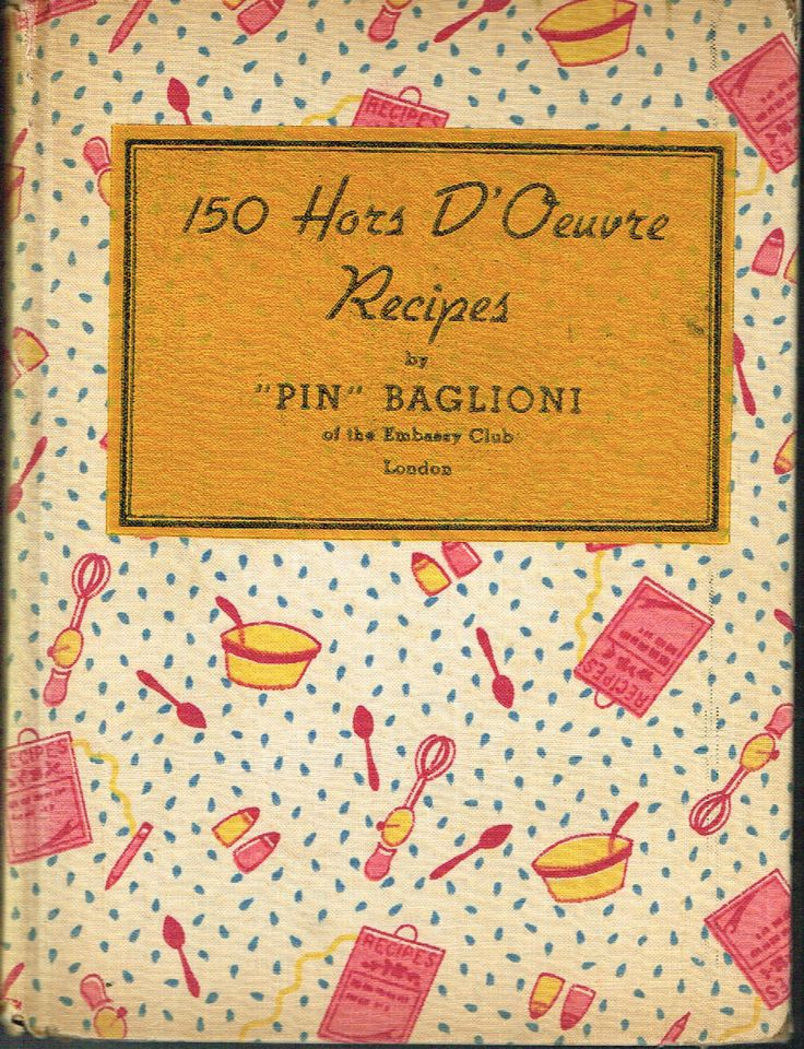 150 Hors D'Oeuvre Recipes