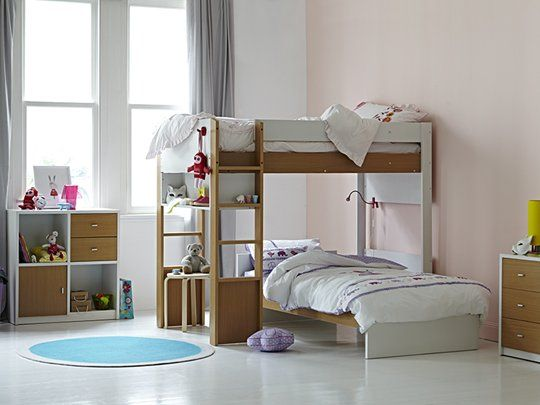 Taylor Matrix Single Bunk Frame Bed