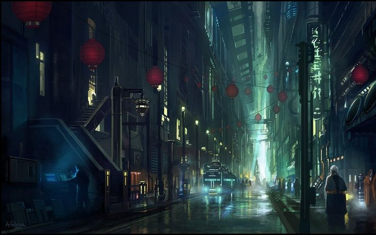 cyberpunk metropolis wallpaper - photo #12