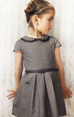 love this dress - with printed tights & old fashioned Mary Janes, this would be over the top, lovely