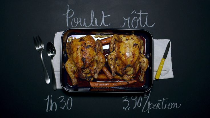 1 heure 30 à 350F 2 poulets entiers  2 kg (4 lb) chacun, oignons  , 2 c. à s de paprika fumé , 1 c. à s.  de fines herbes séchées (mélange à l'italienne ou de Provence),  1 c. à s. d'huile d'olive, 2 c. à s. d'eau