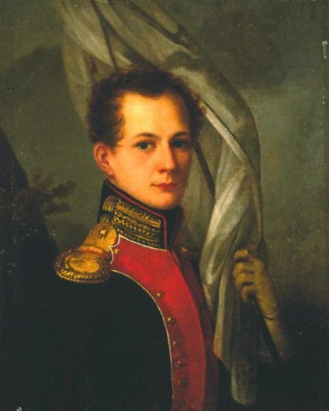 Гр. Владимир Алексеевич Му́син-Пу́шкин (1798 — 1854) — капитан Измайловского полка, крупный землевладелец, член Северного общества, знакомый А. С. Пушкина.