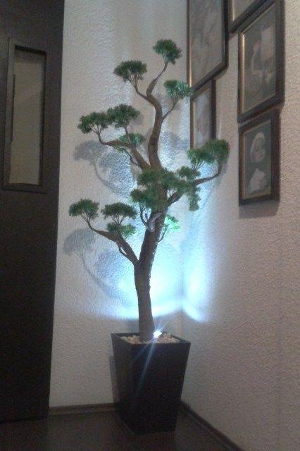 lampara esquinera de bonsai con iluminacin leds bonsai artificial con luz altura de