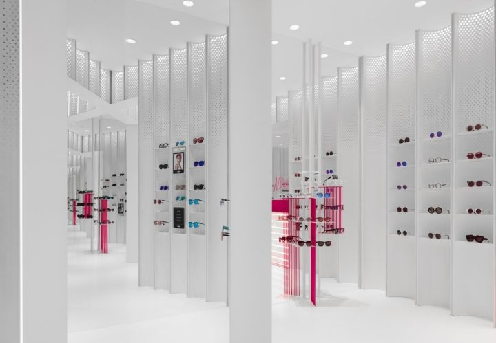 N3ON boutique sunglass store by Linehouse, Shanghai – China » Retail Design Blog