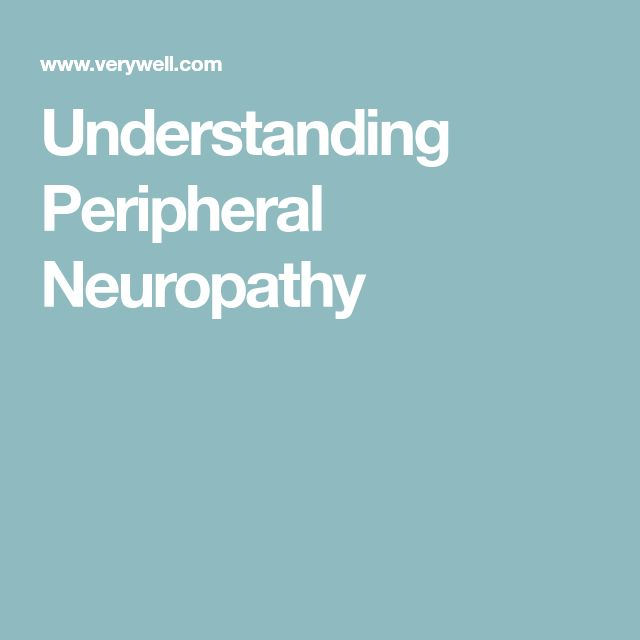 Understanding Peripheral Neuropathy