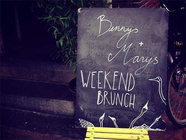 BENNYS + MARYS Amsterdam Cafe Struik,Rozengracht 160,Amsterdam Data:iedere zaterdag en zondag tussen 11-16.30 www.bennysandmarys.com