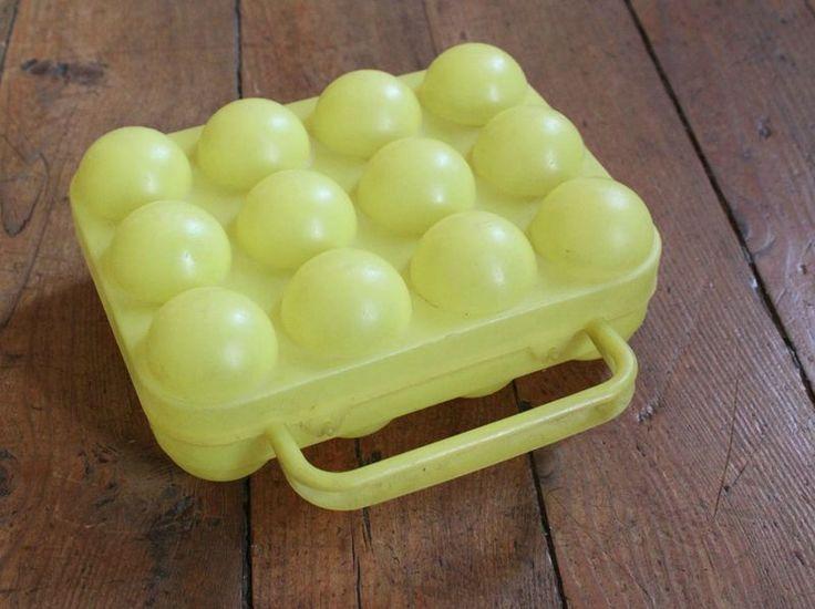 La boîte à oeufs vintage! - pour transporter sa douzaine partout partout