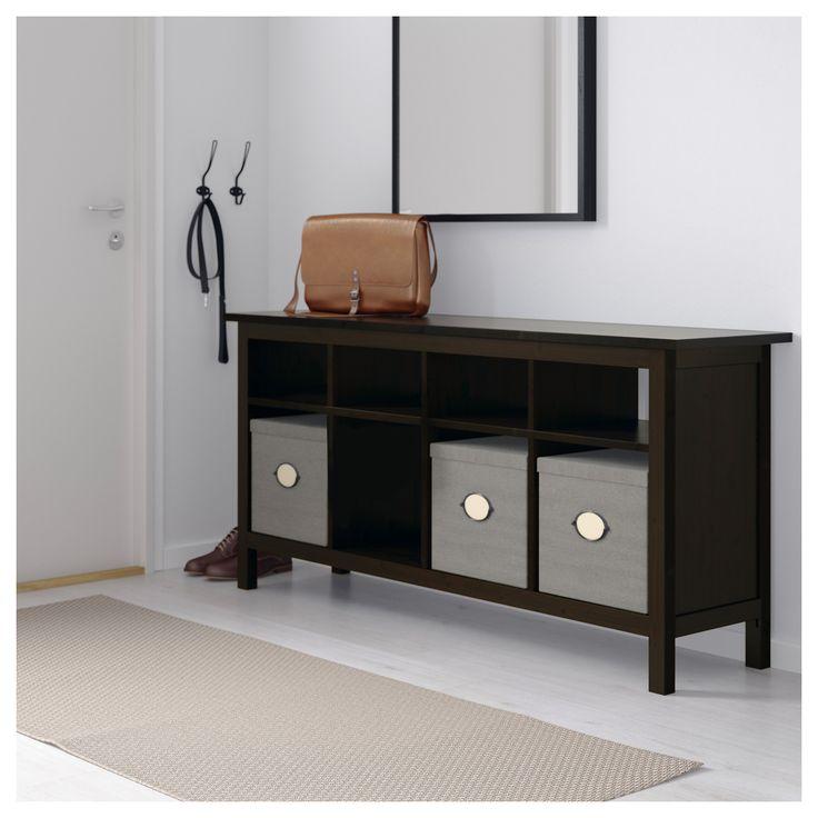 Hemnes Side Table Black Brown 55x55 Cm: Best 25+ Ikea Console Table Ideas On Pinterest