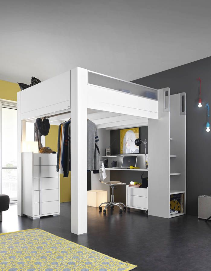 Kids Bedroom Mezzanine best 25+ lit mezzanine 140x200 ideas only on pinterest | lit