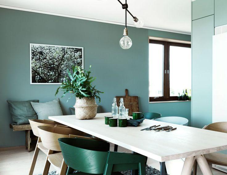Muuto - Cover Chair and Spilt table at Folkhem by Jonas Ingerstedt
