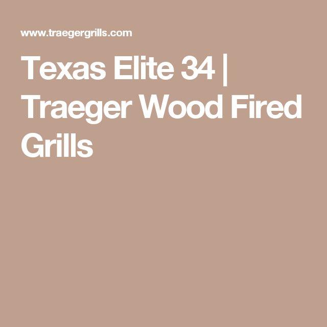 Texas Elite 34 | Traeger Wood Fired Grills
