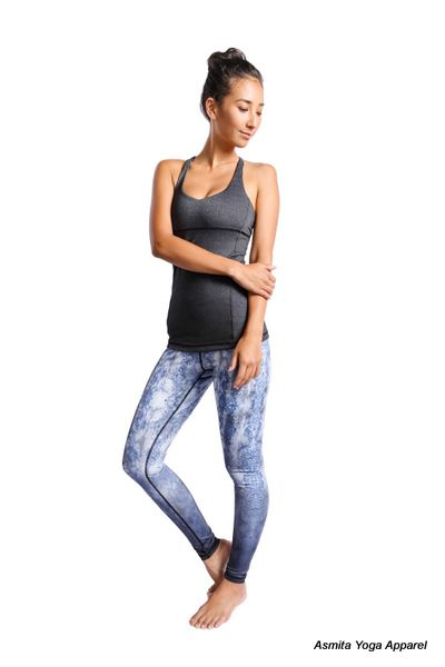 The Hala Leggings by Asmita Yoga it's a beautiful fit taking you from yoga to life. Perform your best while feeling your best.