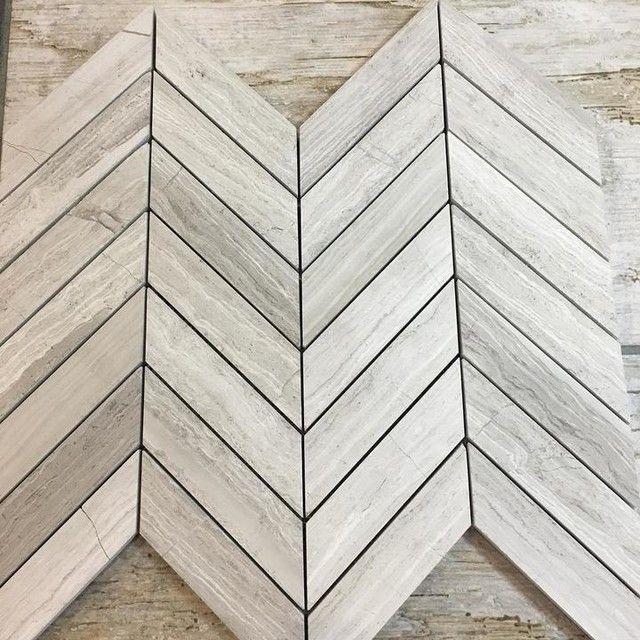 Legno Chevron Limestone Mosaic Wall Tile Mosaic Wall Tiles