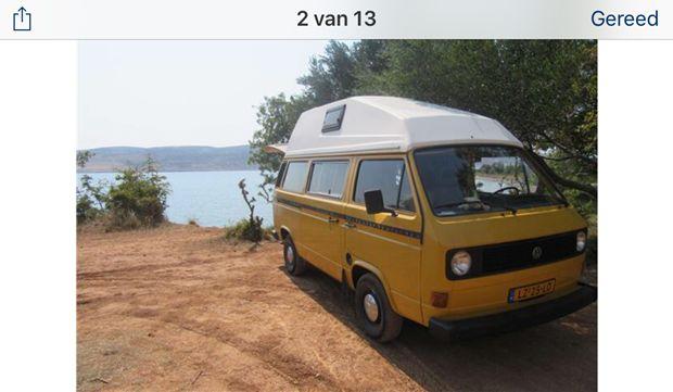 Volkswagen Transporter Kombi 1981 in Nijmegen