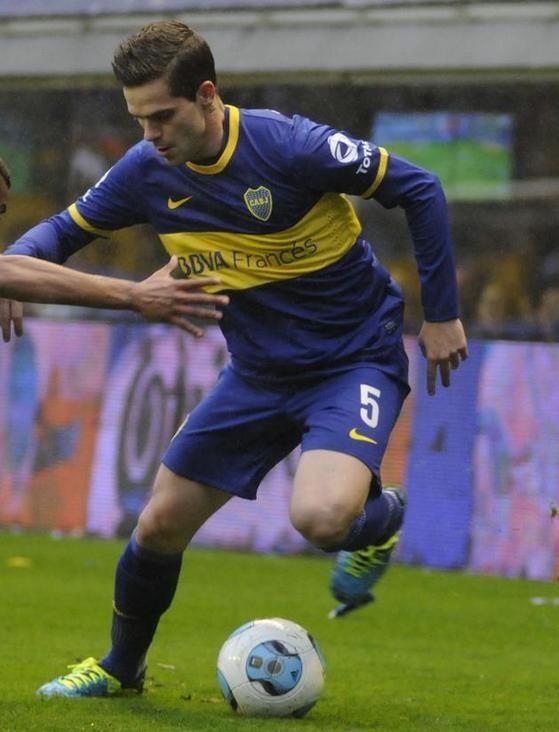 Boca Juniors Vs Racing. Mago Gago