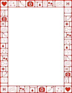 Medical Border | borders/frames | Page borders, Clip art ...