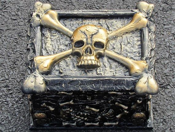 Pirate Box of Bones