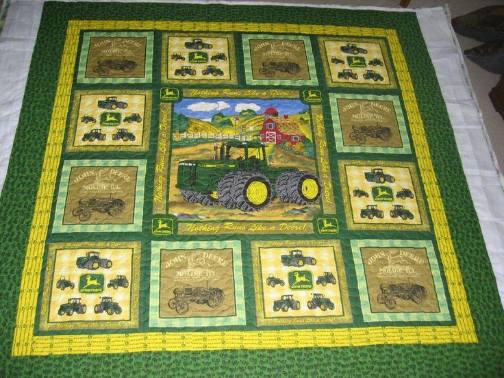 18 best john deere images on Pinterest Tractor quilt, Baby boy quilts and John deere tractors