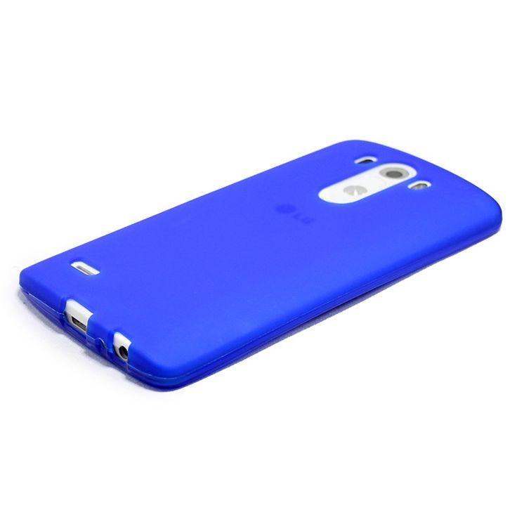 Mobilce   LG G3 TPU MAVI Mobilce   Cep Telefonu Kılıfı ve Aksesuarları