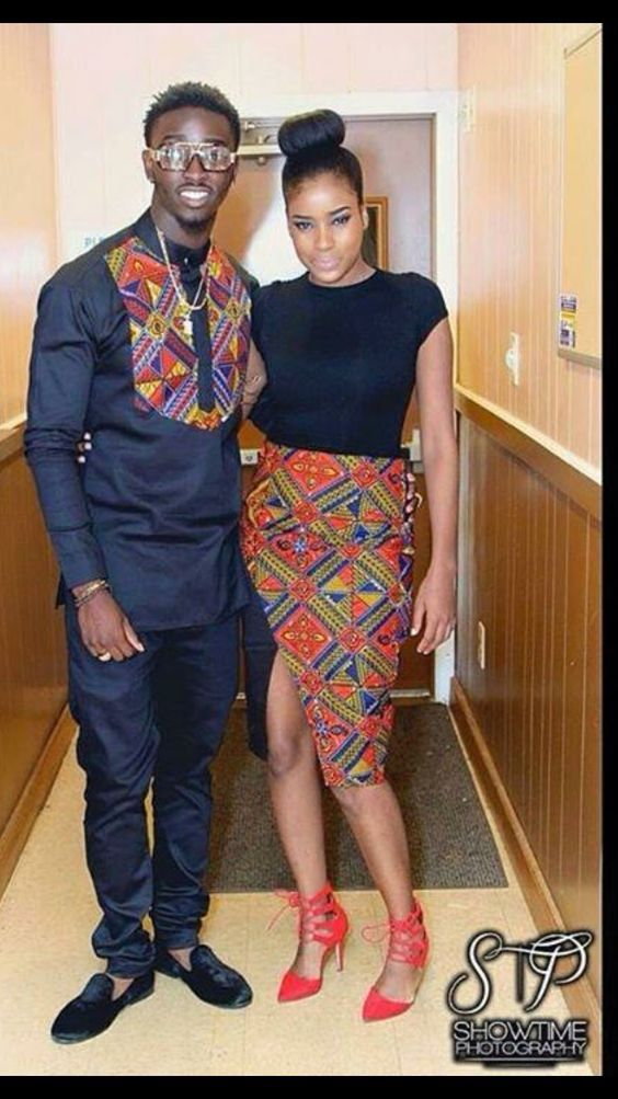 African Attire Dresses for Couples More