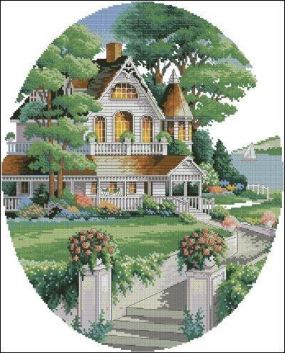 Викторианский дом 1