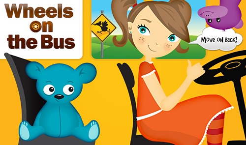 This App allows you to record your own voice singing the Wheels on the Bus song so it is clearer for your hearing impaired child to pick up the words.