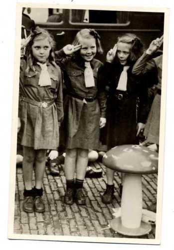 K1358 Scouting Dutch Royalty Queen Beaxtrix Gnome Gre | eBay