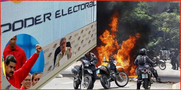 En violenta jornada electoral mueren en Venezuela 10 personas, incluyendo menores, militares y opositores políticos