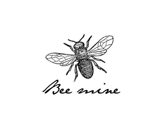 The 25 best vintage bee tattoo ideas on pinterest bee images vintage bee mine temporary tattoo stocking stuffer by pepperink 500 ccuart Images
