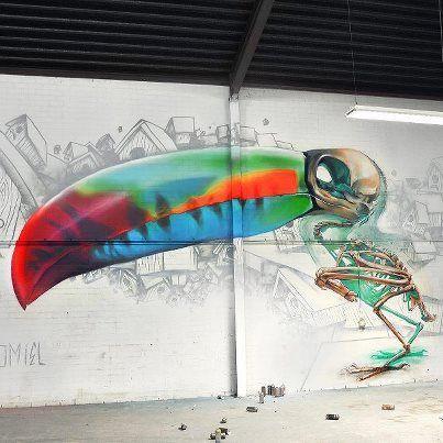 30 Modern Street Art & Graffiti Pieces | From up North - More streetart can be found on www.streetart.nl