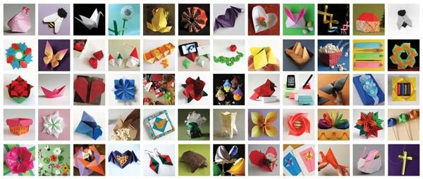 Tante idee per origami con video tutorials