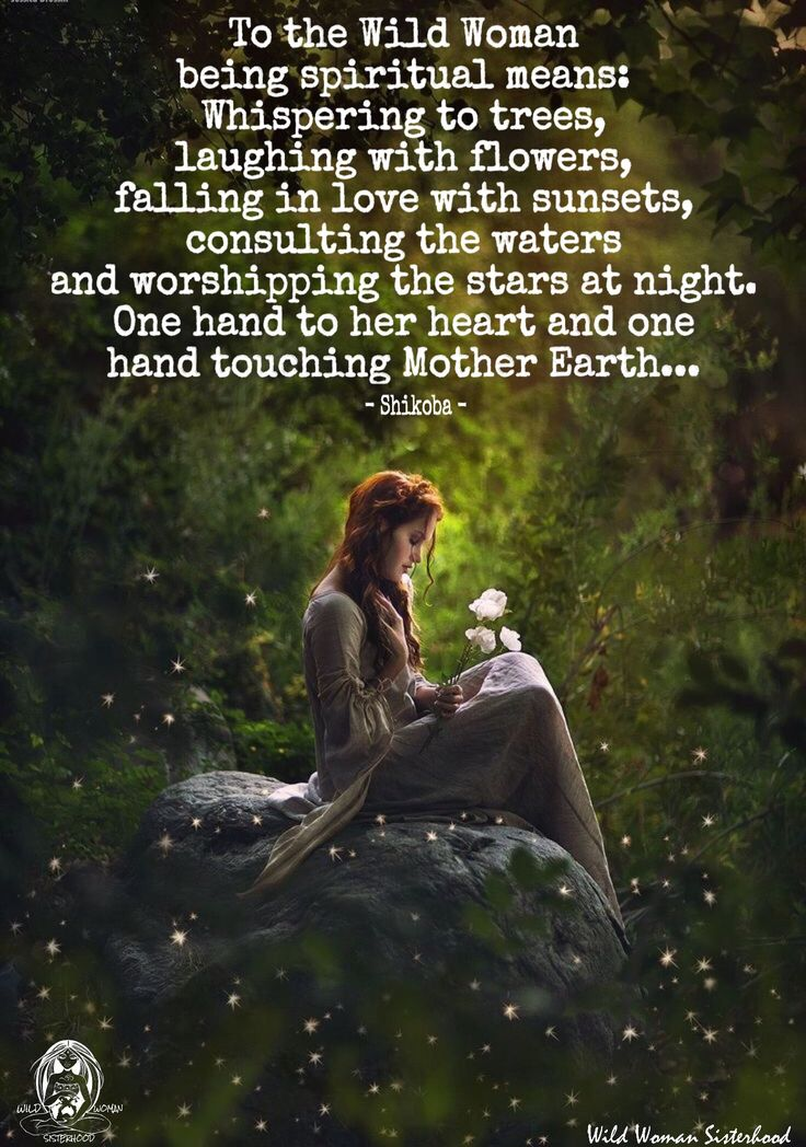 A Spiritual person ~ finds ~ needs ~ the connection to ~ Earth ~ and values all she gives back! Respect ~ Love ~ Connect often! Lightbeingmessages.com