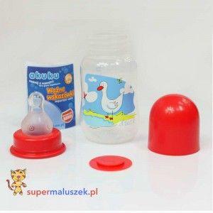 Butelka 125 ml BPA Free #dziecko #butelka #karmienie #baby #bottle #feeding #food #milk
