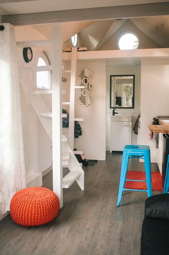 61 best Tiny Houses images on Pinterest | Little houses, Small ... On Wheels Tiny House Designs B E A on