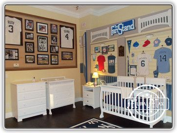 MuralMax Interiors Design Ideas, Pictures, New York Yankees Fan Room Mural  By Http: