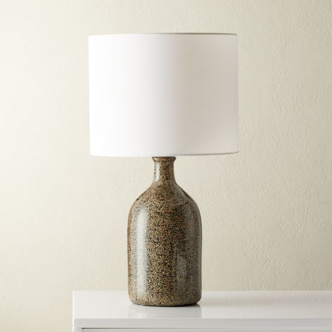 Black Terrazzo Table Lamp Reviews Cb2 Modern Table Lamp Table Lamp Contemporary Table Lamps