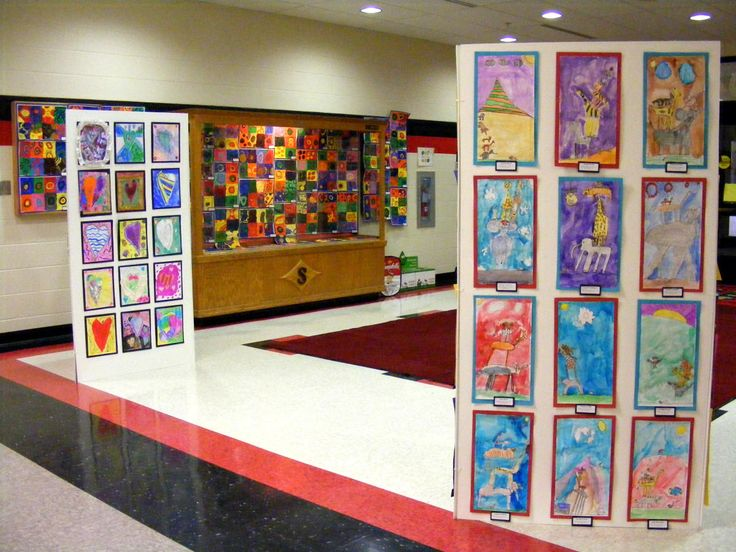 Classroom Presentation Ideas : Best images about art show ideas on pinterest artworks