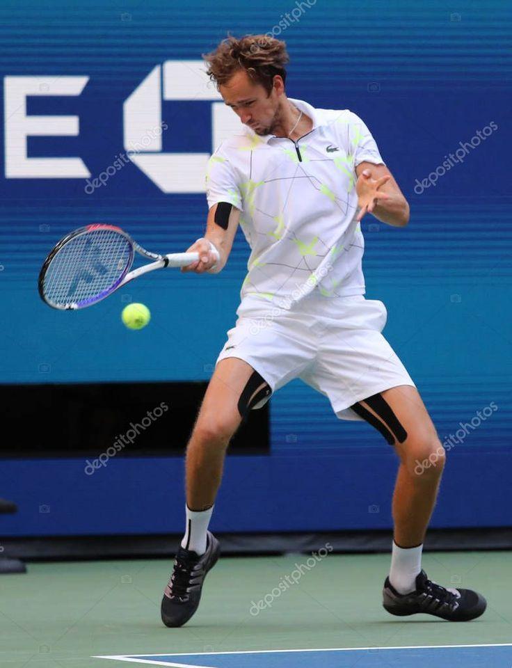 New York September 2019 Professional Tennis Player Daniil ...