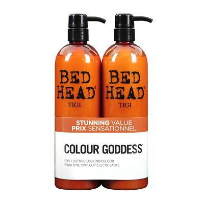 This great value TIGI Bed Head Colour Goddess Oil Infused Shampoo & Conditioner Tween Duo is worth £43.20 and includes:  - TIGI Bed Head Colour Goddess Oil Infused...