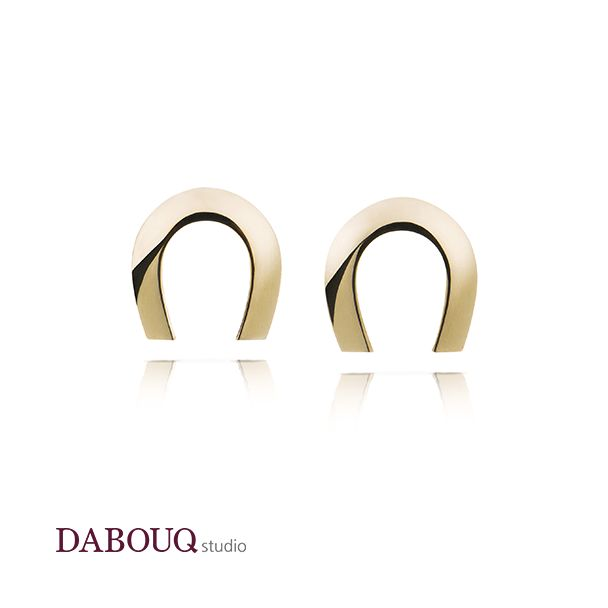 Dabouq Studio Earring - DE0009 - Simple+ #DABOUQ #Jewelry #쥬얼리 #Earring #귀걸이 #Propose #프로포즈 #Diamond #다이아귀걸이 #패션귀걸이 #Gold #White_Gold #Pink_Gold #Rose_Gold