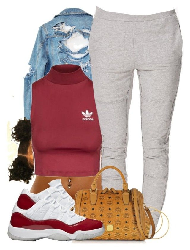 """""""Untitled #683"""" by b-elkstone ❤ liked on Polyvore featuring High Heels Suicide, Topshop, SELECTED, H&M and MCM"""